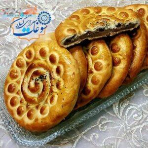 کلوچه سنتی فومن سوغات گیلان 10 عدد