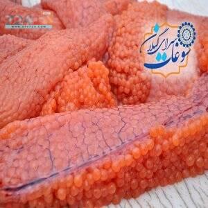 خرید اینترنتی سوغات گیلان اشپل شور ماهی سفید درجه یک