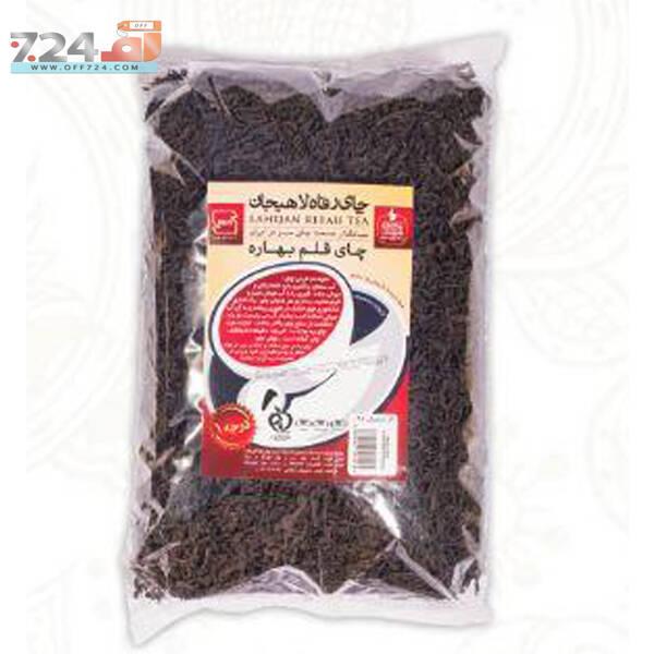 چای سیاه قلم بهاره رفاه لاهیجان بسته 1 کیلویی
