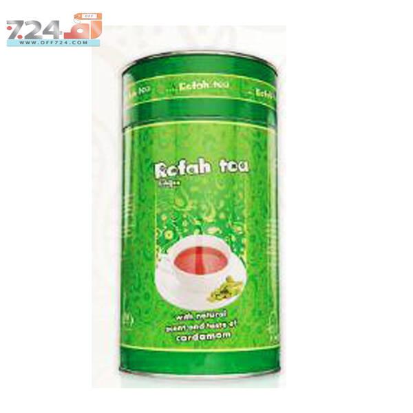 چای سیاه شکسته ممتاز معطر با هل طبیعی رفاه لاهیجان بسته 250 گرمی