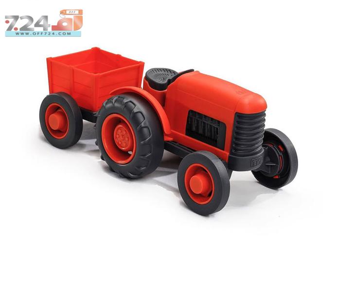 اسباب بازی تراکتور مزرعه کد V-112