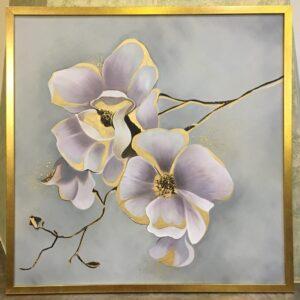 تابلو گل بهاری